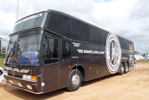 ASA divulga nota sobre a situação do ônibus do clube