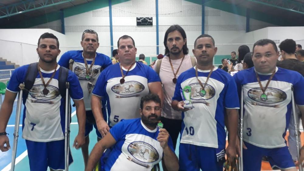 Equipe de Paravôlei do Complexo Tarcizo Freire conquista o 3º lugar em São Miguel dos Campos
