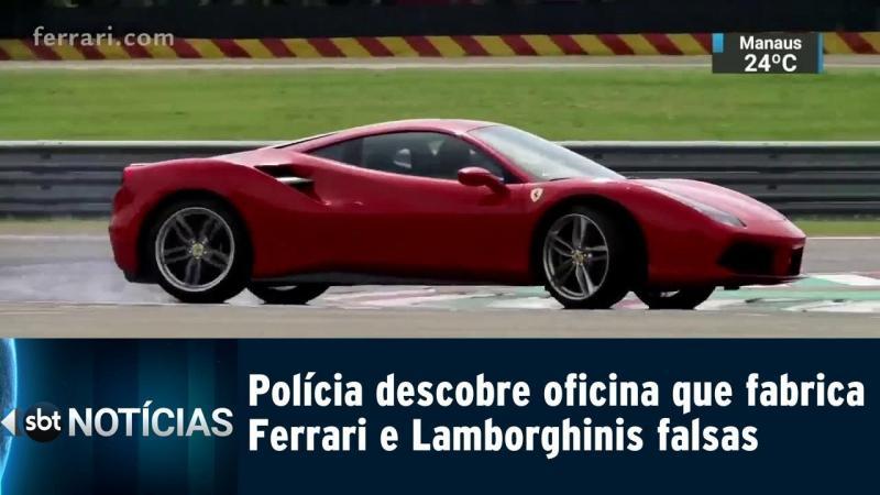 Polícia descobre oficina que fabrica Ferrari e Lamborghinis falsas
